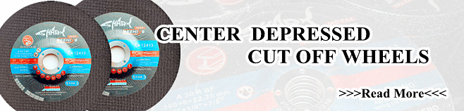 Center Depressed Cutting Disc